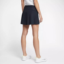 Nike GOLF FLEX Pleated LONG 15 inch/ 38cm Skort Tennis Skirt Size L Blue