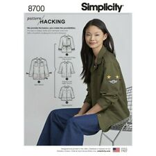 Simplicity Sewing Pattern 8700 Misses Pattern Hack Utility Jacket