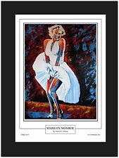 Marilyn Monroe Contemporary Art Print By Patrick J. Killian