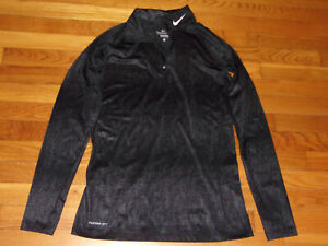 NIKE THERMA-FIT LONG SLEEVE 1/2 ZIP PULLOVER WOMENS LARGE EXCELLENT CONDITION