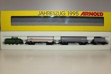 (XD-968) Arnold-N0287 Jahreszug1995 Köf+3Kesselwagen NEU OVP selten!
