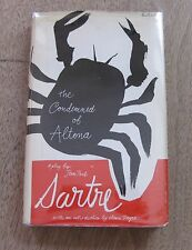 THE CONDEMNED OF ALTONA by Jean Paul Sartre- 1st/1st - HCDJ 1969- VG+ -$3.50