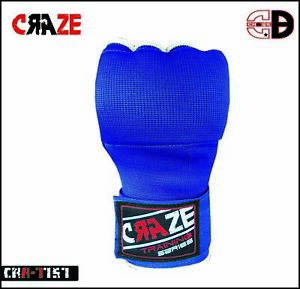 Gel Inner Gloves With Wrist Hand Wraps Foam Padded Boxing Bandages MMA Muay Thai