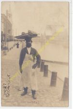 RPPC Russie Types Russes Marchand amublant CCCP Seller of  Watermelons Russia