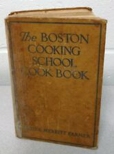 The Boston Cooking School ~ Fannie Merritt Farmer Cookbook 1945