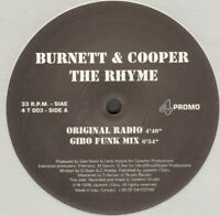 Burnett & Cooper ‎– The Rhyme - 4Tune Records ‎– 4T 003 - Italy 1998