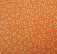 Special Delivery Studio 8 Quilting Treasures BTY Tangerine Leopard Skin Orange