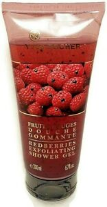 Yves Rocher Redberries Exfoliating Shower Gel Body Wash Raspberry 6.7 fl oz 2016