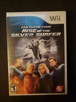 Fantastic Four Rise of the Silver Surfer Nintendo Wii  Complete