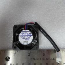 Sanyo Denki 109P0412B704Brushless 12 Volt DC .06 Amp cooling Fan 40mm Made Japan