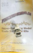 Precision Scale O #2011 Coupler Pocket, Common Standard (Brass Casting)