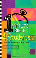 One Minute Bible for Students: With 366 Devotions for Daily Living by Kohlenberg