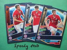 Topps Champions League 2016 17 limited Edition Müller Gold Silber Bronze 2017