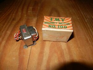 Vintage Toy Electric Model  Magnet  MOTORS TMY  No. 100 New old stock toy boat