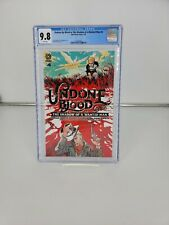 Undone By Blood Or The Shadow Of A Wanted Man Comic 4 Cover A CGC 9.8 Aftershock