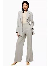 BRAND Neue Ex Topshop Wide Leg Trouser und Slouch Blazer Jacke Anzug mit Leinen