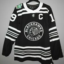 Authentic Winter Classic Chicago Blackhawks #19 Toews Hockey Jersey New Mens M