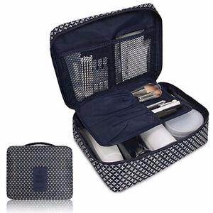 Trousse da Toilette Organizer Viaggio Resistente All'Acqua Multi Make Cosmetico