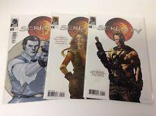 Serenity #1-3 (Dark Horse/2005/1St App/Firefly/Whedon/021813 3) Full Set Of 3