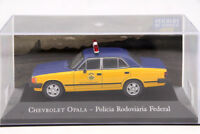 Altaya 1:43 Chevrolet Opala Policia Rodoviaria Federal Toys Car Diecast Models