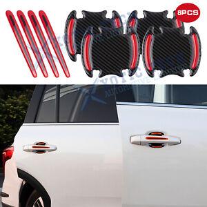 3D Paint Scotchguard Door Handle Reflective Wrap Sticker Strip For Dodge 2000+