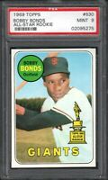 1969 TOPPS #630 BOBBY BONDS ALL-STAR ROOKIE SF GIANTS PSA 9 MINT