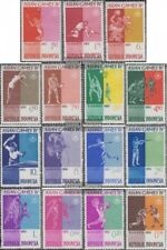 Indonesia 345-359 (complete issue) unmounted mint / never hinged 1962 Asian Spor