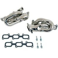 BBK 2011-2017 FORD MUSTANG BASE 3.7L V6 HIGH FLOW SHORTY HEADERS CHROME