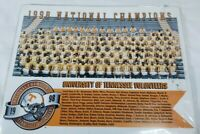 University of Tennessee Volunteers football print Players National Champs 1998