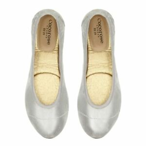 Cocorose Foldable Shoes - Barbican - Silver Shimmer