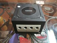 NINTENDO GAMECUBE (GCN) - BLACK DOL-001 - TESTED - CONSOLE ONLY- WORKS GREAT