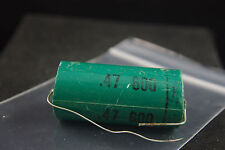 One Sangamo .47 uF 600 Vdc Audio Tone Capacitor