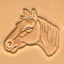 Tandy Leather Craft Craftool Horse Head (Left) 3D Stamp Punch Stamping 88364-00