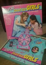 Barbie Just Us Girls Board game Cardinal 3900 from 1989 Vintage