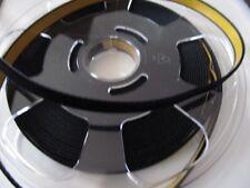 10 m Samtband - selbstklebend - 9 mm - schwarz