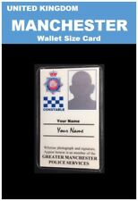 international ID collection... UNITED KINGDOM... Wallet Card ...<<MANCHESTER>>