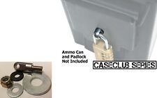 Locking Hardware for Steel Ammo Can Stainless Steel 50 Cal 20mm 40mm Ammo Cans