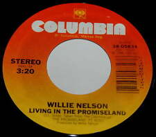Willie Nelson 45 Living In The Promiseland / Bach Minuet In G