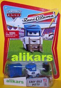 R - EASY IDLE PITTY - #83 Race O Rama Collection ROR Disney Mattel Cars autos