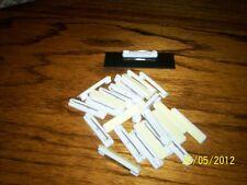 pin fastener (25 pcs) peel & stick, for name badges, tags, crafts, etc.