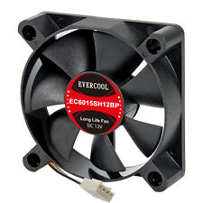 EverCool EC6015SH12BP 60mm x 15mm PWM Fan, 4Pin PWM