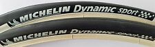 2x Michelin Dynamic Sport Draht 28 700x23 23-622 Fahrrad Reifen  Schwarz-Weiß