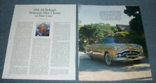 1951-54 Packard Patrician Clipper 200 300 Vintage Info Article