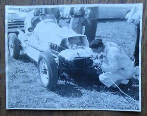 """FWD SPECIAL auto racing car 1955 AT WATKINS GLEN original 7x9"""" Photograph"""