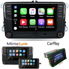 Car Stereo Radio RCD330 CarPlay MirrorLink BT RVC For VW Golf Passat Polo EOS