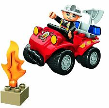 LEGO DUPLO FIRE CHIEF CAR SET 5603 100% COMPLETE FREE POSTAGE