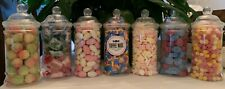 Old School Quality Retro Traditional Confectionery in 500ml Victorian Sweet Jars
