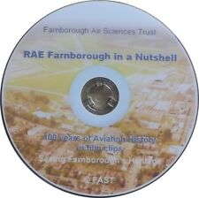 RAE Farnborough in a Nutshell : 100 Years of Aviation History in Film Clips DVD