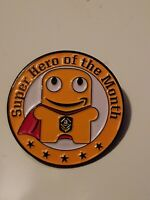 Amazon Peccy Superhero of the Month Pin