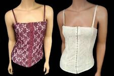 Unbranded Corset Patternless Tops & Shirts for Women
